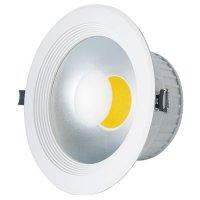 LED svítidlo podhledové 20W MCOB bílá teplá