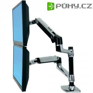 Držák pro 2 monitory Ergotron, stolní, 38 - 61 cm