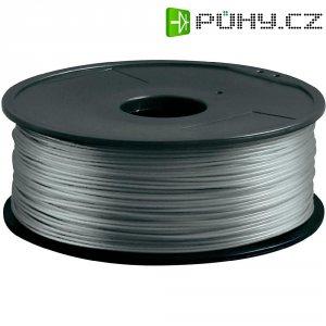 Náplň pro 3D tiskárnu, Renkforce PLA300S1, PLA, 3 mm, 1 kg, stříbrná