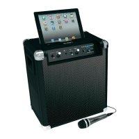 Přenosný PA reprobox ION Blockrocker Bluetooth®, 18/22 W