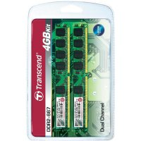 RAM Transcend 4GB KIT DDR2, 667MHz, CL5