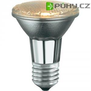 Halogenová žárovka Sygonix, E27, 18 W, 82 mm, stmívatelná, teplá bílá, 2 ks