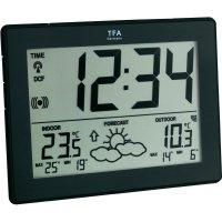 Digitální bezdrátová meteostanice s DCF hodinami, TFA 35-1125-01-IT, černá