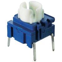 Tlačítko MEC 3FTL6 M, 1x vyp/(zap), 25 V/DC, 0,05 A, modrá/bílá
