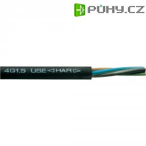 Vícežílový kabel Faber Kabel H07RN-F, 050115, 3 G 6 mm², černá, metrové zboží