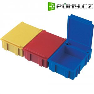 ESD SMD box vodivý Licefa N3-11-11-4-4, (d x š x v) 41 x 37 x 15 mm, žlutá