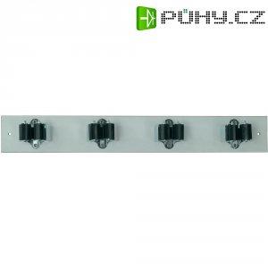 Lišta s držáky Prax 4-35W, Ø 35 mm, 440 x 60 mm