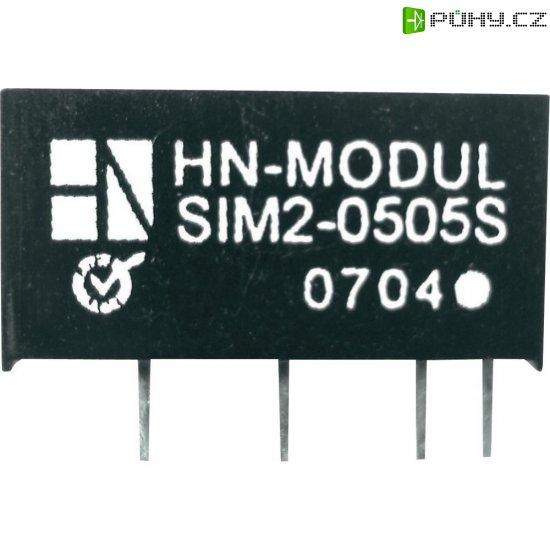 DC/DC měnič HN Power SIM2-0915S-SIL7, vstup 9 V, výstup 15 V, 132 mA, 2 W - Kliknutím na obrázek zavřete