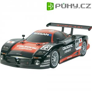 RC model EP Tamiya Nissan R390 GT1, TT-01 E, 1:10, 4WD, stavebnice
