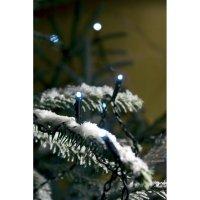 Vánoční mini řetěz Konstsmide, 40 modrých LED