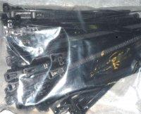 Stahovací páska uvolnitelná 7x150mm černá, balení 100ks