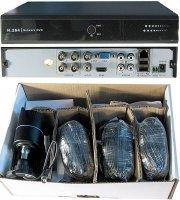 Kamerový systém 720P JW204K-CR5 (DVR+4kamery CMOS), reklamace