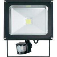Venkovní LED reflektor s detektorem pohybu PIR, 36 W, studená bílá (9281c3)