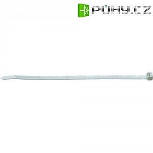 Zalamovací stahovací pásky ABB, 358 x 4,7 mm, 50 ks, bílá
