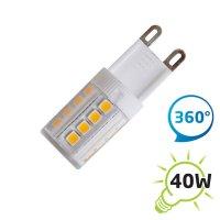 Žárovka LED G9 4W bílá teplá
