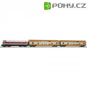 Startovací sada H0 osobního vlaku a dieslovky řady 118 Piko 57135