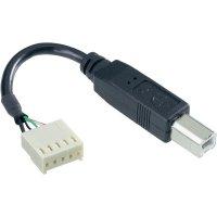 Kabelový USB-B adaptér ESKA 14194, zástrčka rovná