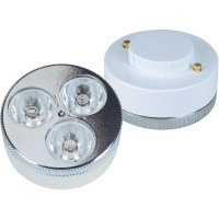 LED žárovka GX5.3, 3x 1 W - teple bílá
