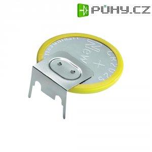 Knoflíková baterie s pájecími kontakty New Sun CR2450, ležací, 560 mAh, 3 V