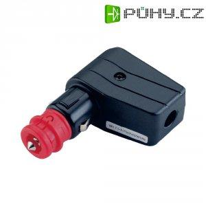 Úhlová autozástrčka s LED ProCar 57730006, 12/24 V, 7,5 A
