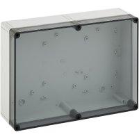 Svorkovnicová skříň polykarbonátová Spelsberg PS 1313-7-t, (d x š x v) 130 x 130 x 75 mm, šedá (PS 1313-7-t)