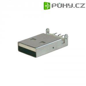 Modulární vestavná zástrčka SMD ultra tenká ASSMANN WSW A-USB A-LP-SMT-C, pájená
