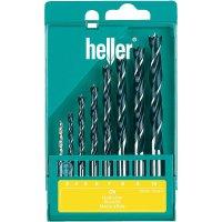 Sada spirálových vrtáků do dřeva Heller, 205241, 8 ks