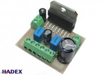 Zesilovač 2x25W nf stereo s TDA7375 - malé rozměry, STAVEBNICE