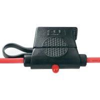 Automobilová pojistkový odpínač standardní plochá pojistka SCI R3-59A, se zobrazením stavu, 30 A, 24 V/DC, 1 ks