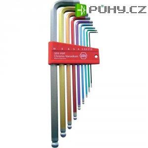 Sada barevných imbusových klíčů Wiha 34268, 1,5-10 mm, 9 ks