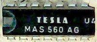 MAS560A - bezkontaktní přepínání kanálů TV, DIL16