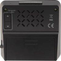 Digitální DCF budík, RC223, 80 x 80 mm, černá