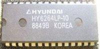 HY6264LP-10 - SRAM 64k, 100ns, DIP28 /Hyundai/