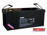 Baterie olověná 12V 200Ah MOTOMA pro soláry - Nadrozměrné zboží - nutno domluvit dopravu telefonicky