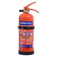 Hasící přístroj práškový 2kg (13A 89 B/C) ABC (mosazný ventil)