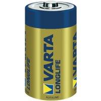 Alkalická baterie Varta Longlife, typ C, sada 6 ks