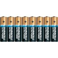 Sada alkalických baterií Duracell Ultra, typ AA, 8 ks