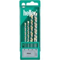 Sada víceúčelových vrtáků z tvrdokovu Heller Allmat, 4dílná