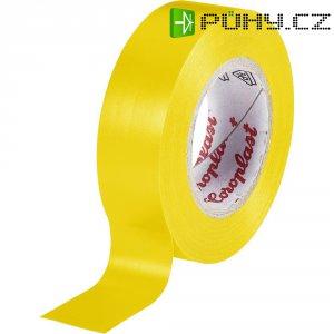 Izolační páska Coroplast, 302, 15 mm x 25 m, žlutá