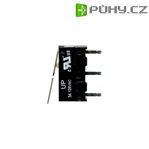 Mikrospínač s páčkou TE Connectivity, 1-1825043-3, 125 V/AC, 3 A