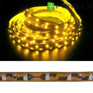 Led pásek samolepící žlutý 12V šířka 8mm