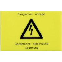 Varovný štítek Phoenix Contact WS-G5/4, žlutá