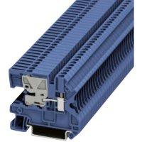 Svorkovnice Phoenix Contact UTN 2,5 (3245011), 55 mm, šroubovací, 5,2 mm, modrá