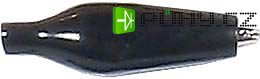 Krokosvorka izolovaná 27mm černá - Kliknutím na obrázek zavřete