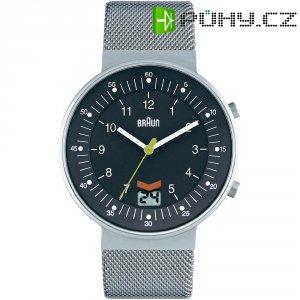 Ručičkové náramkové hodinky Braun, pánské, pásek z nerezové oceli
