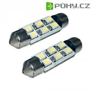 SMD LED sufitka Eufab, 13295, 1 W, S8.5, 41 mm, bílá, 2 ks