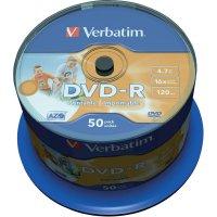 Verbatim DVD-R 4,7GB 16X 50 ks SP PRINT