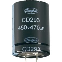 Elektrolytický Snap In kondenzátor Jianghai ECS2EBZ471MT6P23030, 470 µF, 250 V, 20 %, 30 x 30 mm
