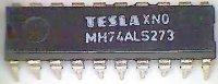 74ALS273 8x klopný obvod D s nulováním, DIL20 /MH74ALS273/