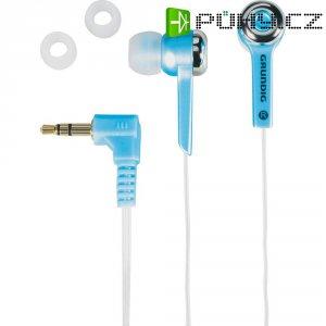 Modrá sluchátka Grundig